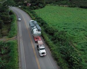 Transporte terrestre de carga pesada
