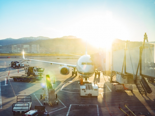 transporte aereo descarga farmaceutica