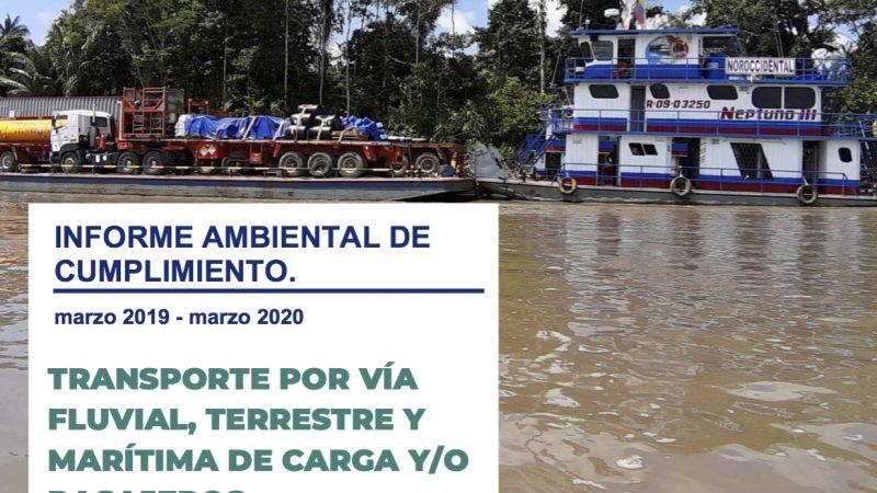 Informe Ambiental de Cumplimiento 2020.