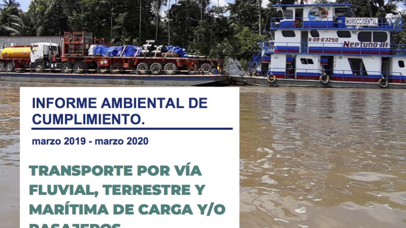 Informe de Cumplimiento MAAE, 2020