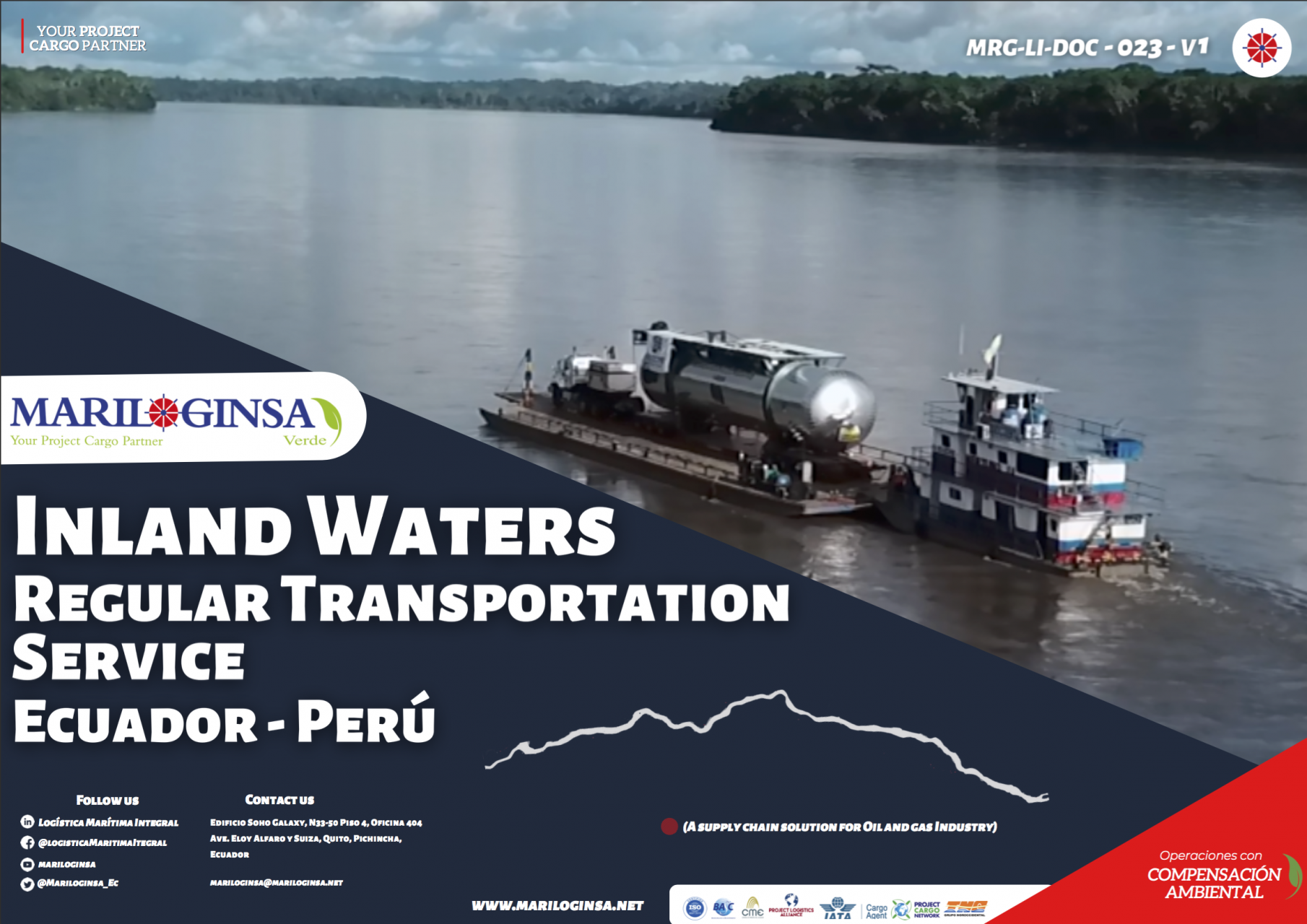 Multimodal Service Logistic Ecuador Oil and Gas Industry