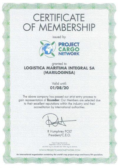 Certificado PCN